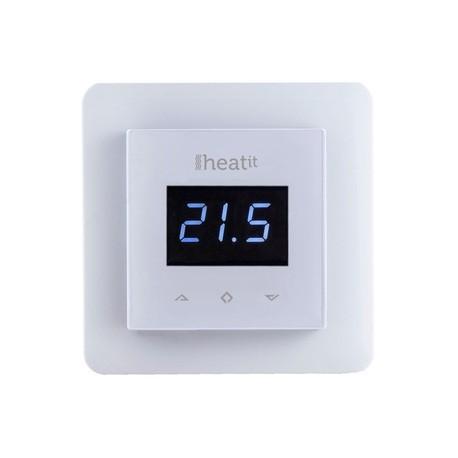 Termostat HeatIT biely