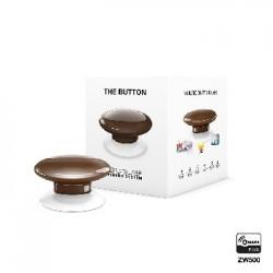 Fibaro button hnedý