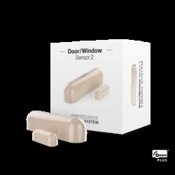 Fibaro senzor dverí 2 generácia béžový