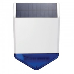 Vonkajšia solárna siréna