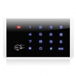 Bezdrôtová klávesnica s RFID čítačkou